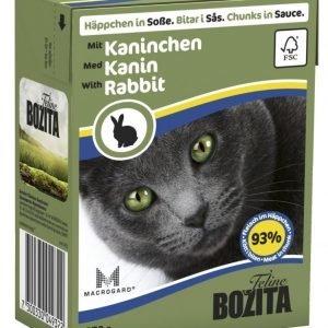 Bozita Kaninlihaa Sisältävät Bozita Feline Palat Kastikkeessa 16 X 370 G