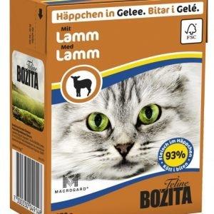 Bozita Lampaanlihaa Sisältävät Bozita Feline Palat Hyytelössä 16 X 370 G