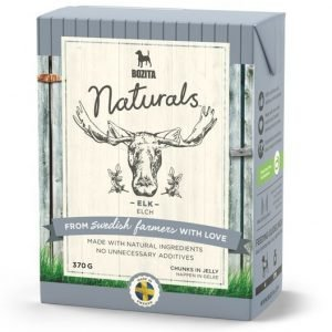 Bozita Naturals Elk Bitar I Gelé 16x370 G