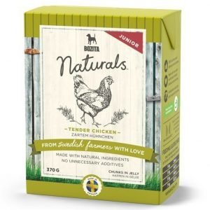 Bozita Naturals Junior Tender Chicken Bitar I Gelé 16x370 G