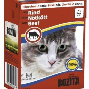 Bozita Naudanlihaa Sisältävät Bozita Feline Palat Kastikkeessa 16 X 370 G