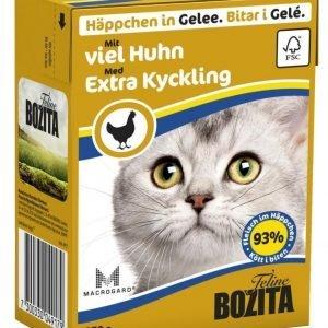 Bozita Runsaasti Kananlihaa Sisältävät Bozita Feline Palat Hyytelössä 16 X 370 G