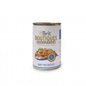 Brit Boutiques Gourmandes Rabbit True Meat 12x400g