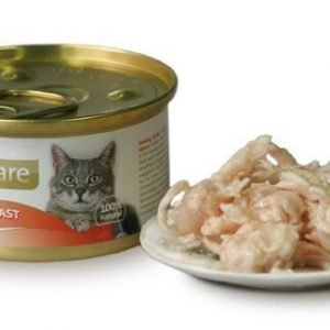 Brit Care Cat Chicken Breast Burk 24x80g