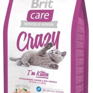Brit Care Cat Crazy I'm Kitten 2 Kg