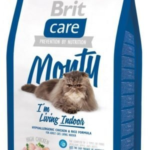 Brit Care Cat Monty I'm Living Indoor 7 Kg