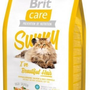 Brit Care Cat Sunny I've Beautiful Hair 2 Kg