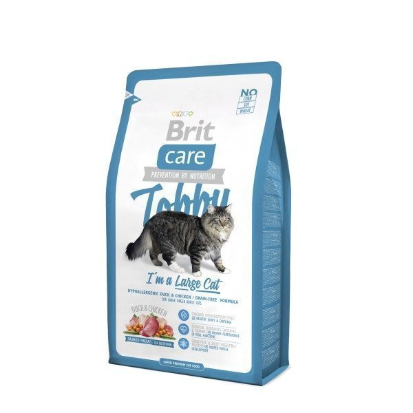 Brit Care Cat Tobby I'm A Large Cat 2kg