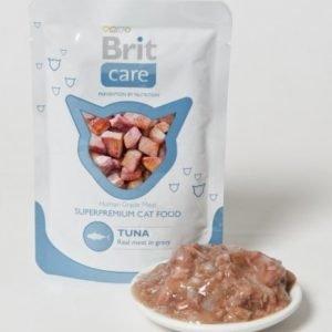 Brit Care Cat Tuna Pouch 24x80g