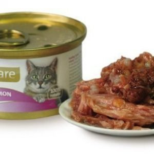 Brit Care Cat Tuna Salmon Burk 24x80g