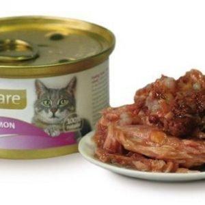 Brit Care Cat Tuna Salmon Burk 24x80g