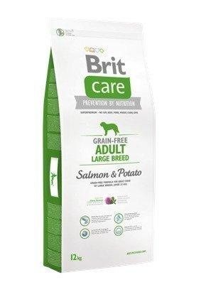 Brit Care Grain Free Adult Large Salmon & Potato 12 Kg