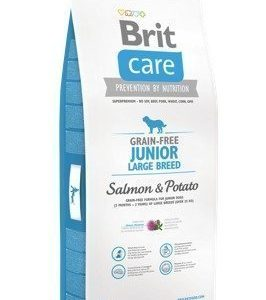 Brit Care Grain Free Junior Large Salmon & Potato 12 Kg