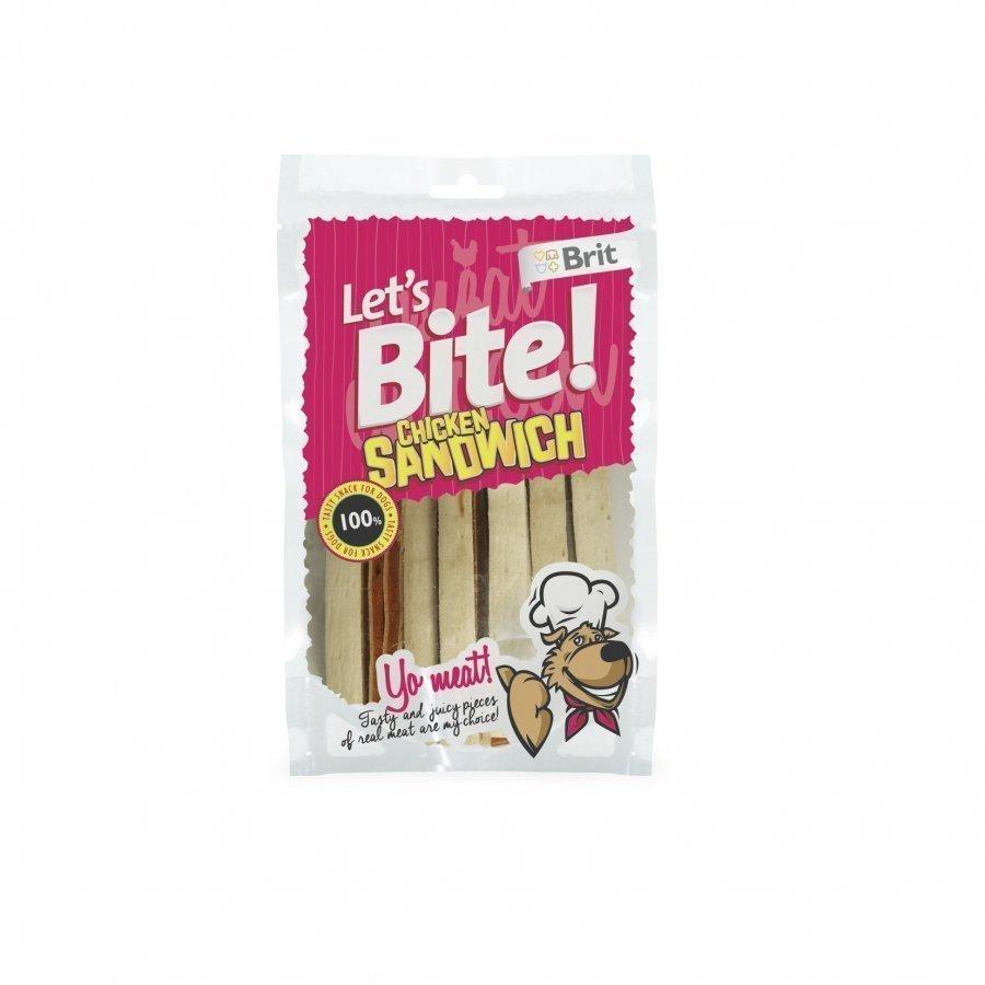 Brit Let's Bite Chicken Sandwich 80g