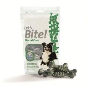 Brit Let's Bite Dental Care Brush Bone 80g