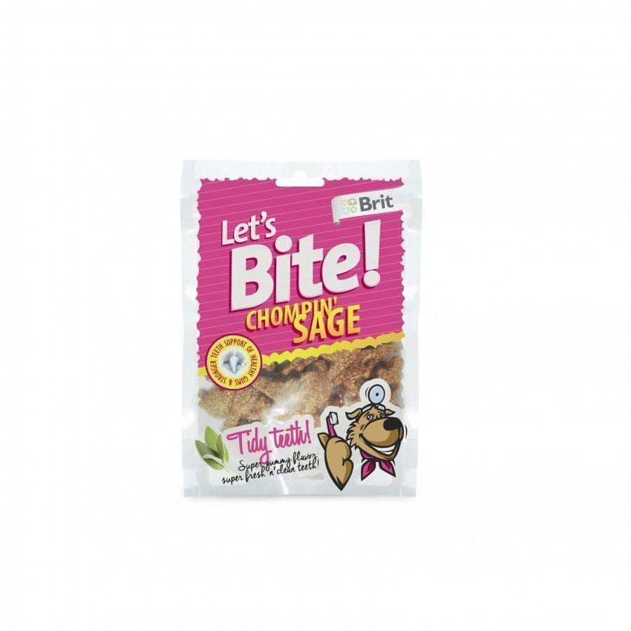 Brit Let's Bite Dental Chompin Sage 150 G
