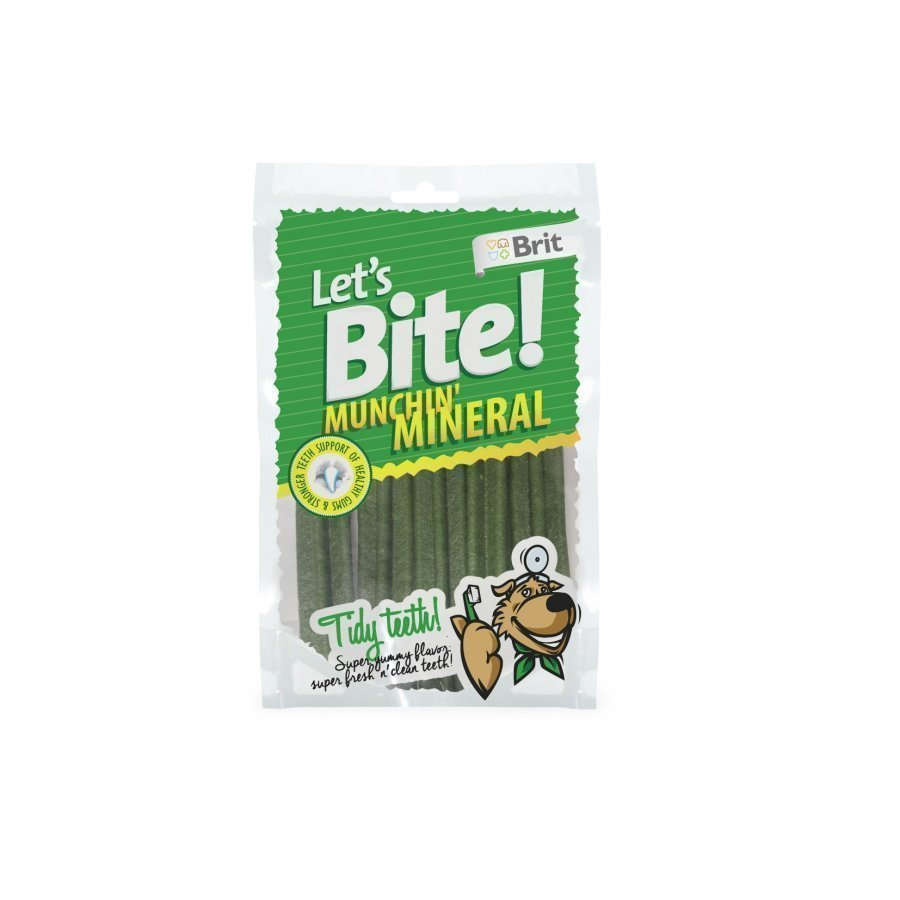 Brit Let's Bite Dental Munchin Mineral 105g