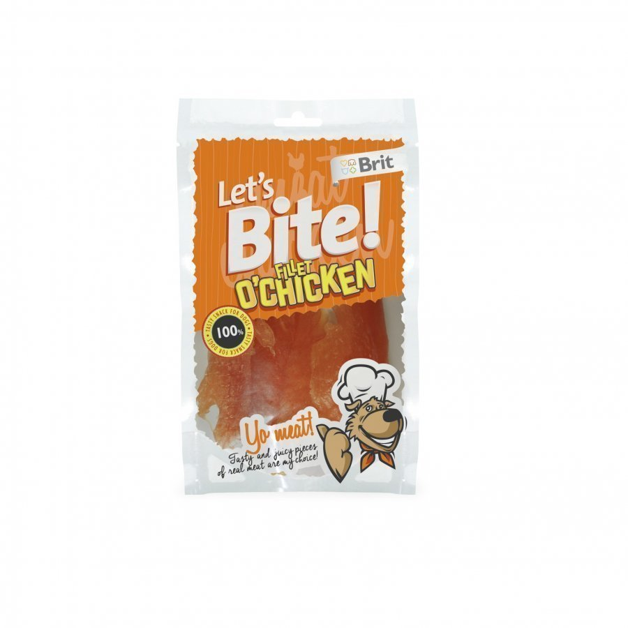 Brit Let's Bite Fillet O Chicken 80g