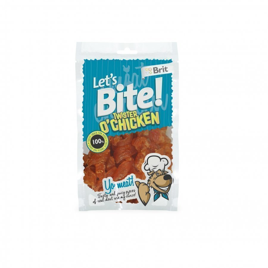 Brit Let's Bite Twister O Chicken 80g