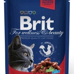Brit Premium Cat Beef Stew & Peas 24x100g