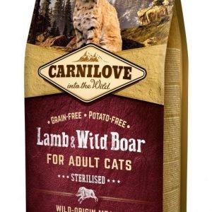 Carnilove Cat Lamb & Wild Boar For Sterilised 6 Kg