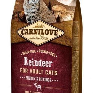Carnilove Cat Reindeer Energy & Outdoor 6 Kg