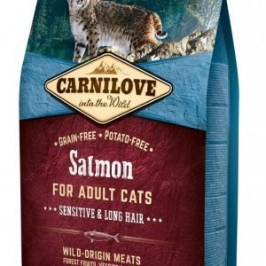 Carnilove Cat Salmon Sensitive & Long Hair 6 Kg