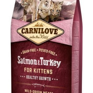 Carnilove Cat Salmon & Turkey For Kittens 6 Kg