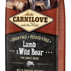 Carnilove Dog Adult Lamm & Vildsvin 12kg