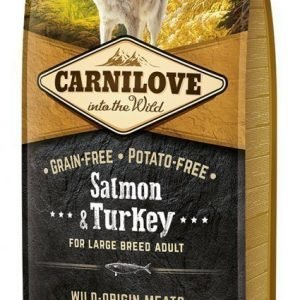Carnilove Dog Adult Lax & Kalkon Large Breed 12kg