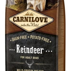 Carnilove Dog Adult Renkött 12kg