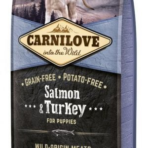 Carnilove Dog Puppy Lax & Kalkon 12kg