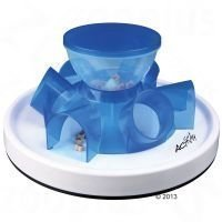 Cat Activity Tunnel Feeder - mukaan: 400 g Purizon Adult Chicken & Fish