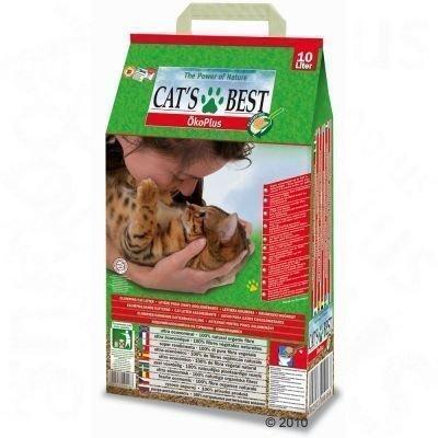 Cat's Best Öko Plus - 40 l + 20 l (noin 27 kg)
