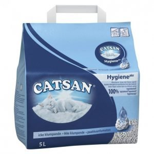 Catsan Kissanhiekka 5l Hygiene Plus