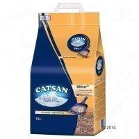 Catsan Ultra -kissanhiekka - säästöpakkaus: 2 x 15 l
