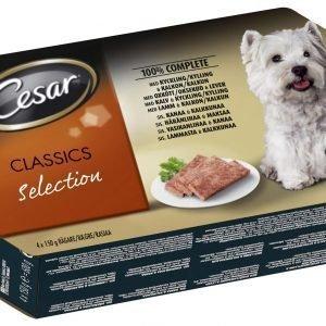 Cesar Classics Selection 4 X 150 G Pakkaus