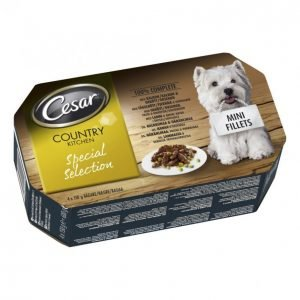Cesar Country 4x150 G Special Selection Mini Fillets