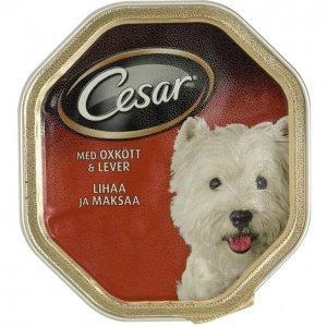 Cesar Koiranruoka 150g Classics Häränl-Maksa