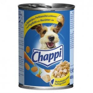 Chappi Koiranruoka 400g Siipikarja-Porkkana