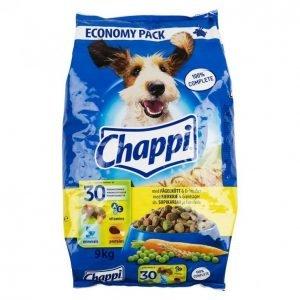 Chappi Koiranruoka 9kg Siipikarja