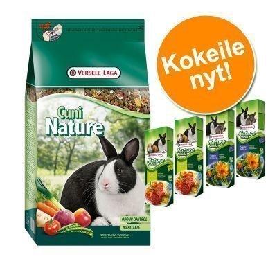 Cuni Nature + Versele-Laga Nature Sticks erikoishintaan! - 10 kg *
