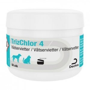 Dechra Trizchlor4 Wet Wipes 50 Kpl