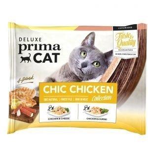 Deluxe Primacat Chic Chicken 4 X 50 G Annospussit