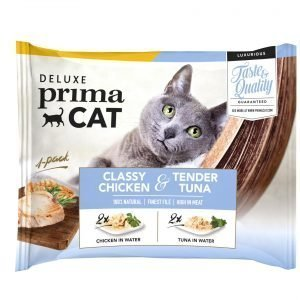 Deluxe Primacat Classy Chicken And Tender Tuna 4 X 50 G Annospussit