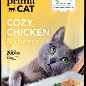 Deluxe Primacat Cozy Chicken & Cheeze 50 G Annospussi