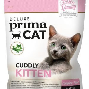 Deluxe Primacat Cuddly Kitten 400 G Täysravinto