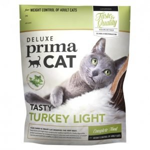 Deluxe Primacat Kissanruoka 400g Turkey-Light