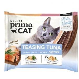Deluxe Primacat Teasing Tuna 4 X 50 G Annospussit
