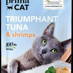 Deluxe Primacat Triumphant Tuna & Shrimps 50 G Annospussi